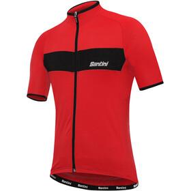 Santini Ali Kortærmet cykeltrøje Herrer rød